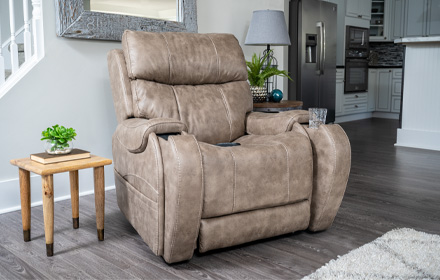 lift chairs edmonton ab quality dining room chair covers our electric power recliners pride mobility breakthrough technology s