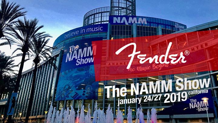 Fender na NAMM Show 2019