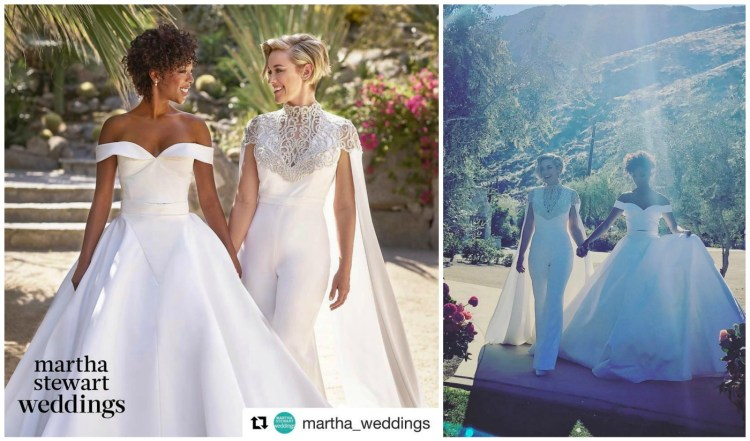 Awe-Worthy Bride Styles for Your Same-Sex Wedding