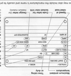 knowing how to read the information on a motor nameplate will allow you to identify performance characteristics and applications of a motor  [ 1304 x 807 Pixel ]