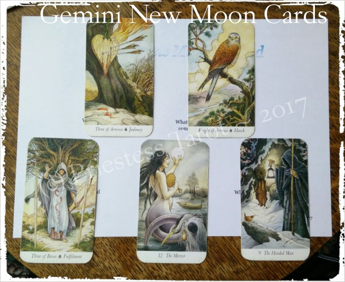 New Moon in Gemini cards