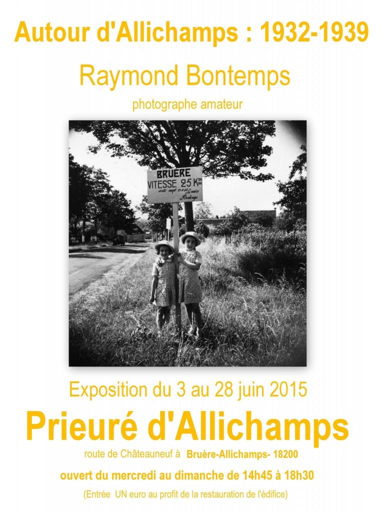 Juin 2015 Exposition Autour d'Allichamps Raymond Bontemps 1932 1939 (2)