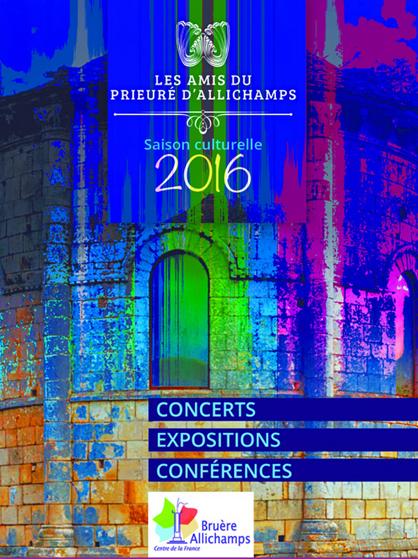 2016 – Programme complet de la saison culturelle