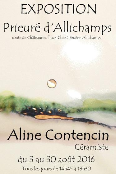 Saison 2016 – Aline Contencin, céramiste