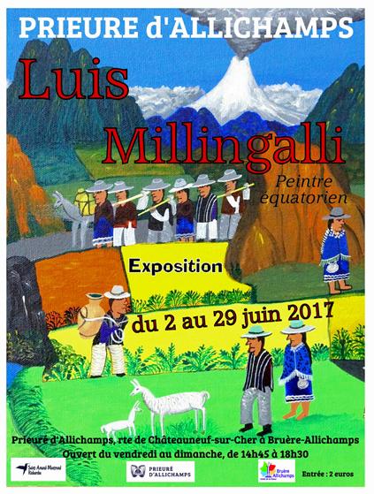 Saison 2017 – Luis Millingalli, peintre équatorien