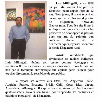 Luis Millingalli biographie
