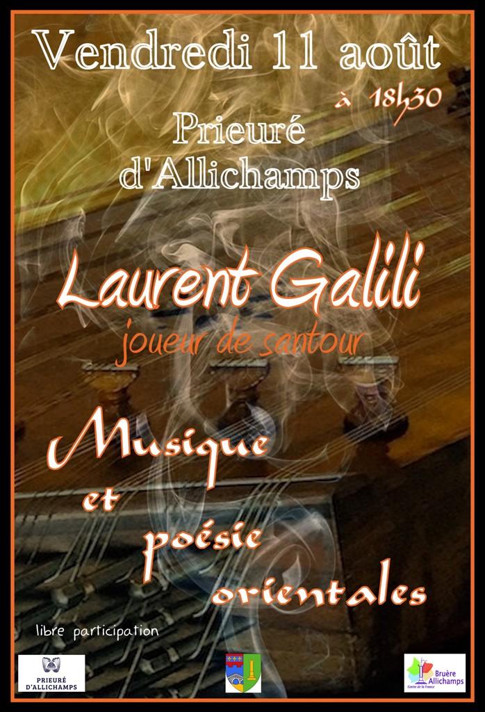 Concert Laurent Galili 3aaSite