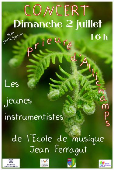 Saison 2017 – Concert des jeunes instrumentistes de l'école de musique Jean-Ferragut de Saint-Amand-Montrond