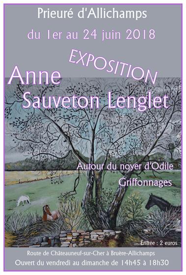 Saison 2018 – Anne Sauveton Lenglet (1er au 24 juin)