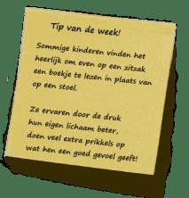 Tip van de week! wk 38 2012