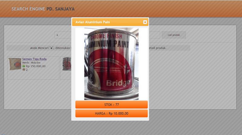 Aplikasi Penjualan PD. Sanjaya