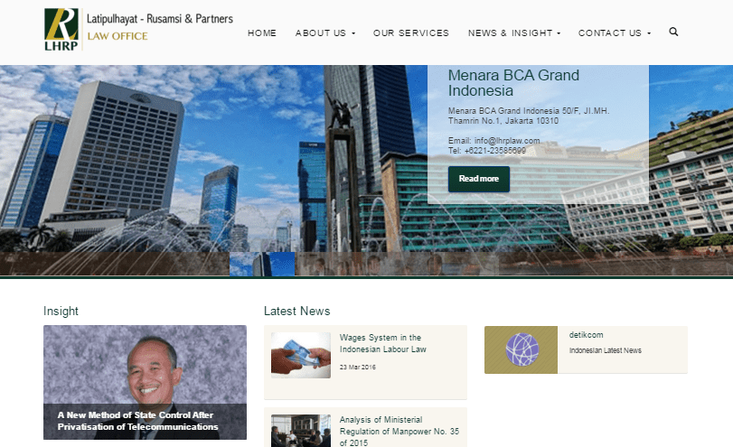 Website Profile Law Office