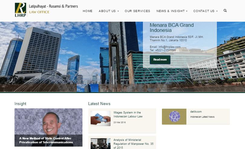 Website Profile Law Office