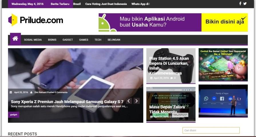 Prilude.com Portal berita teknologi paling update