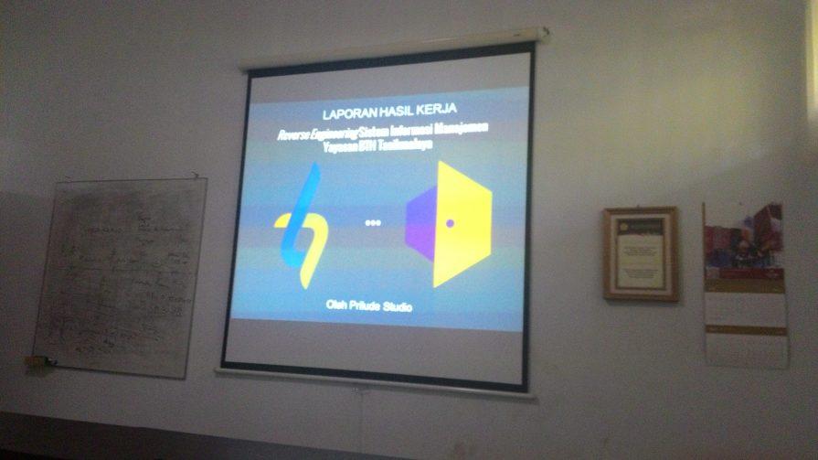 Reverse Engineering Yayasan BTH Tasikmalaya