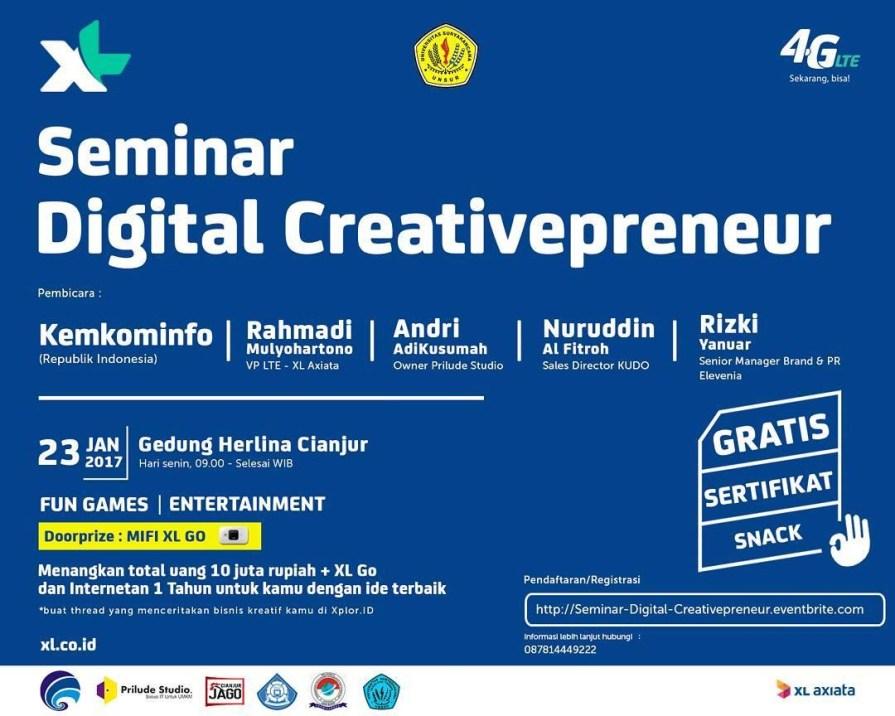 Kiat Sukses Bisnis Digital Creativepreneur Bersama Prilude Studio