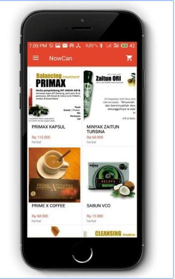 Aplikasi Ala Gojek, Nowcan Ojek Online Terbesar di Papua.