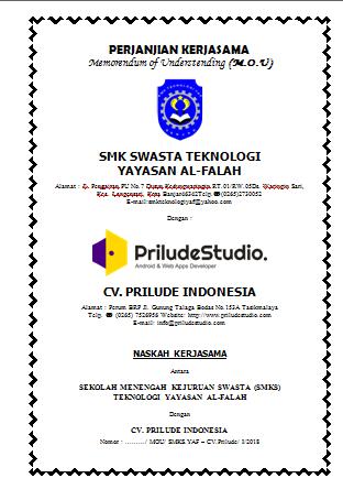 Pendampingan DUDI Oleh Prilude Studio