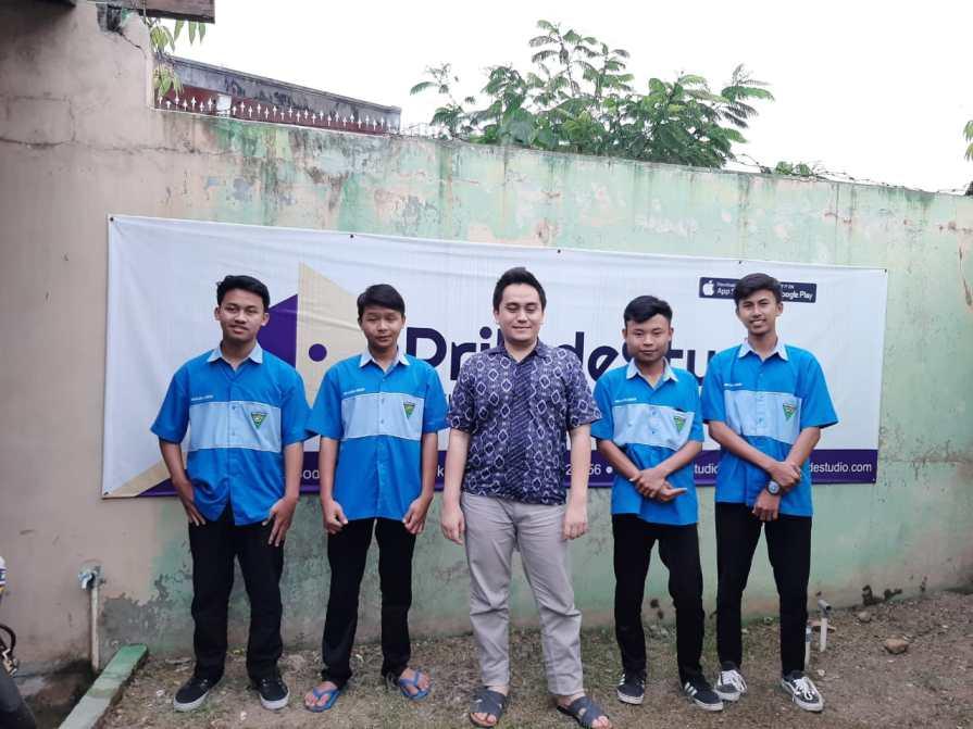 Peserta Prakerin di Prilude Jadi Juara 1 LKS TIngkat Kab. Tasikmalaya