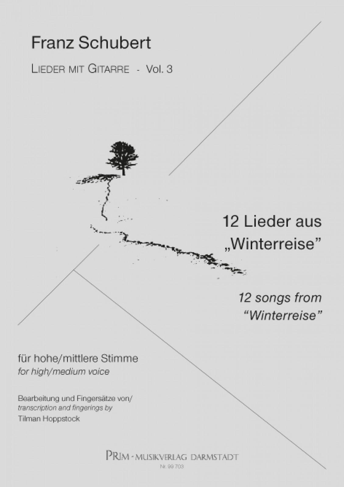 Schubert: 12 Lieder aus Winterreise