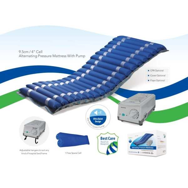 Ripple Mattress – Alternating Pressure – M6 - Overview