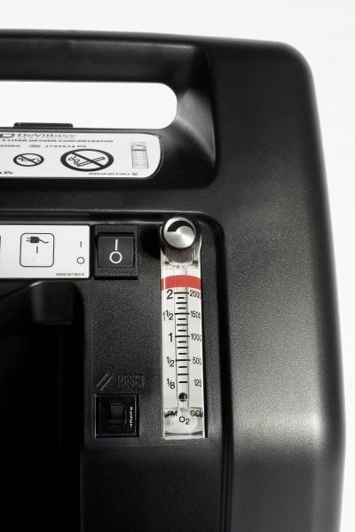 DevilBiss Compact 525 Oxygen Concentrator - Flow Meter