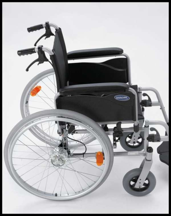 Invacare Action 1 Wheelchair - Side View