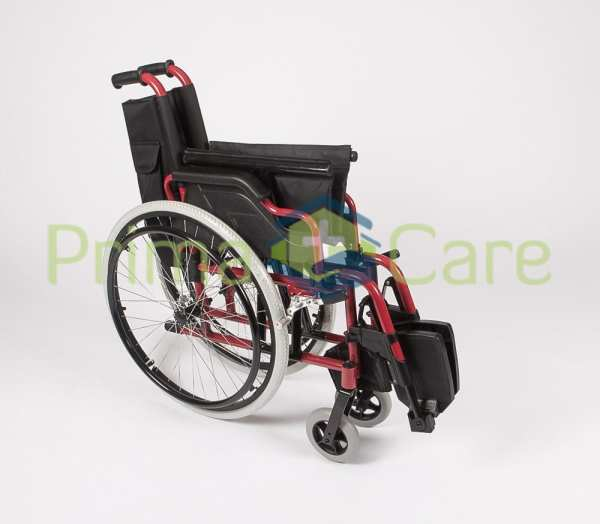 Wheelchair - Ultra Deluxe - folded