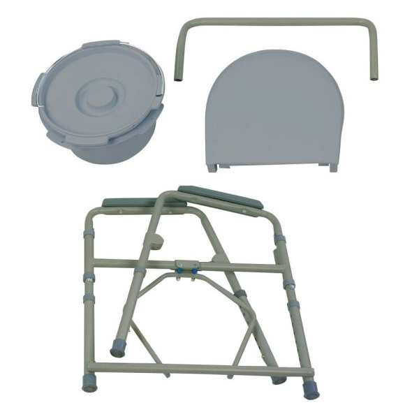 Commode - Standard - Folding - Pieces disassembled