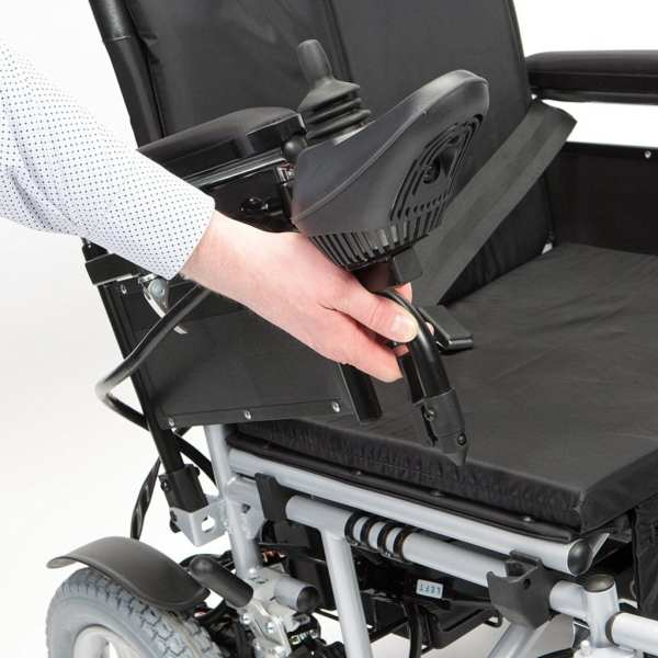 Electric Wheelchair - Drive Medical - Cirrus - Flip up armrests
