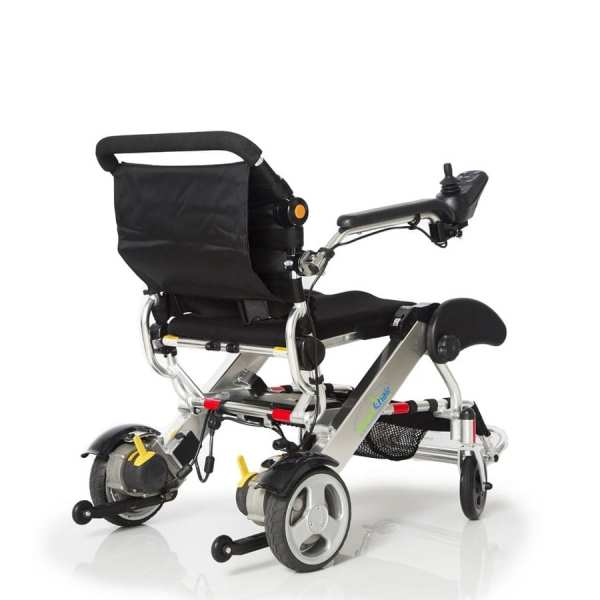 Electric Wheelchair - KD Smart - Foldable - Back rear view