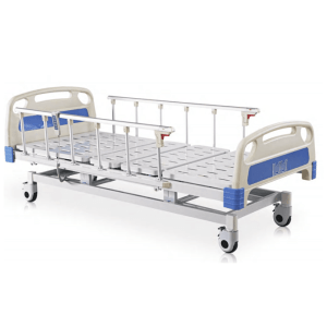 Hospital Bed - Electric - Ultra low - Height raised up with side rails