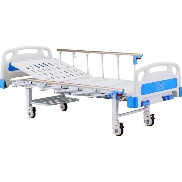 Hospital bed - Manual - 2 Crank - adjustable backrest