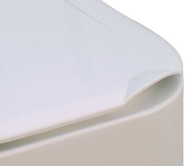 Raised Toilet Seat - Drive Medical - Height Adjustable with arms - Lid
