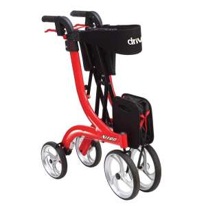 Rollator - Drive Medical - Nitro - Folded