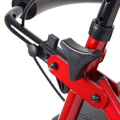 Rollator - Drive Medical - R6 - Flip up backrest