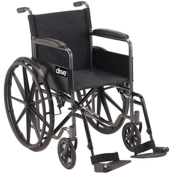 Wheelchair - Drive Medical - Silver Sport