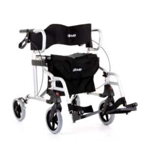 Rollator - Drive Medical - Diamond Deluxe - Silver