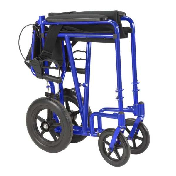 Transport Wheelchair - Drive Medical - Expedition - Folded