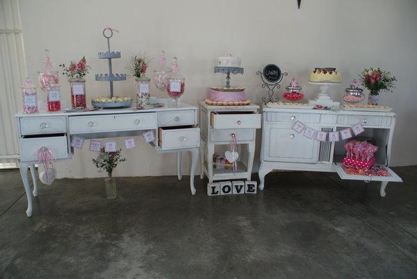 Decorating Vintage Buffet
