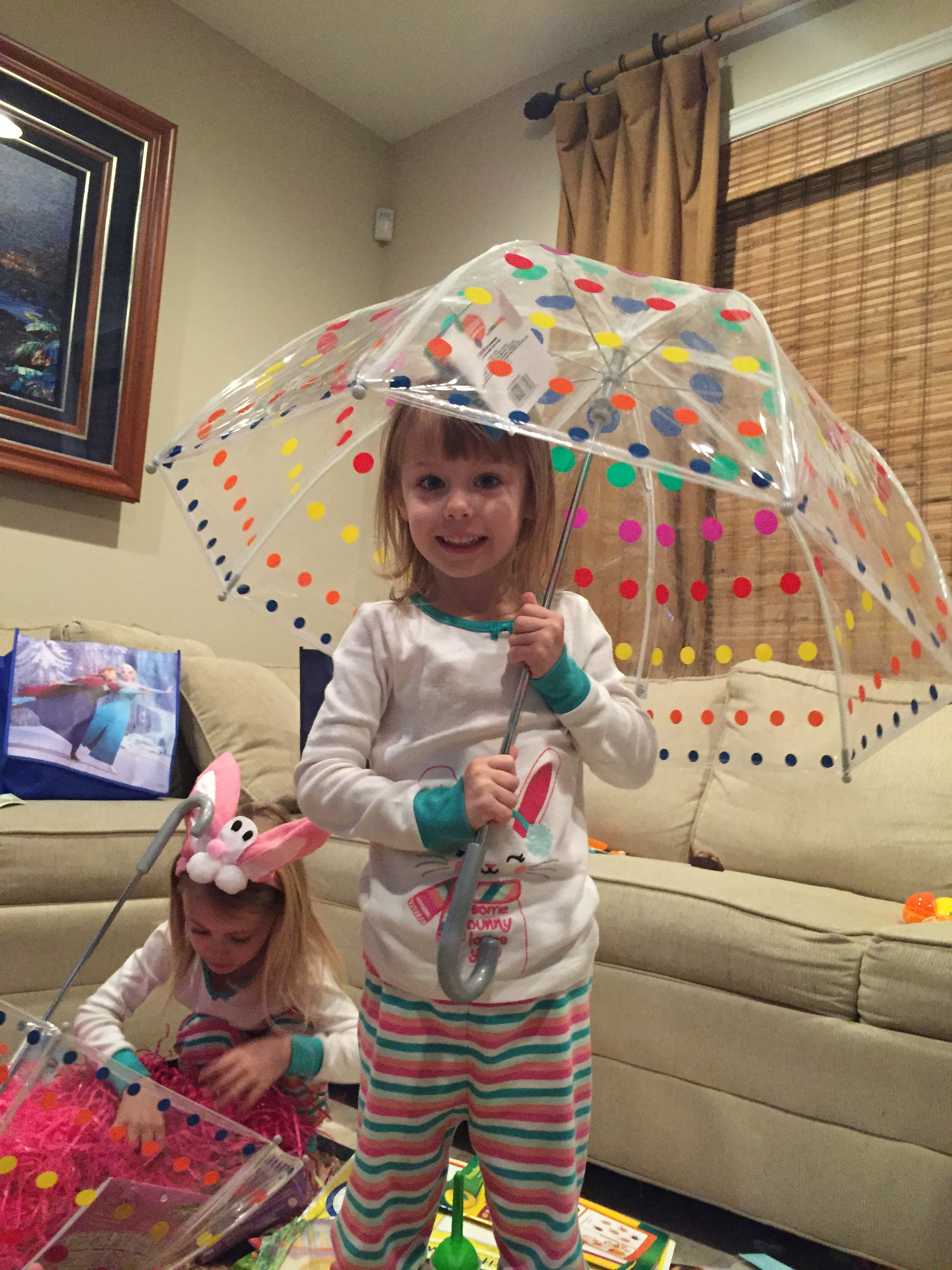 Make Your Own Umbrella Easter Baskets (non Candy Centered