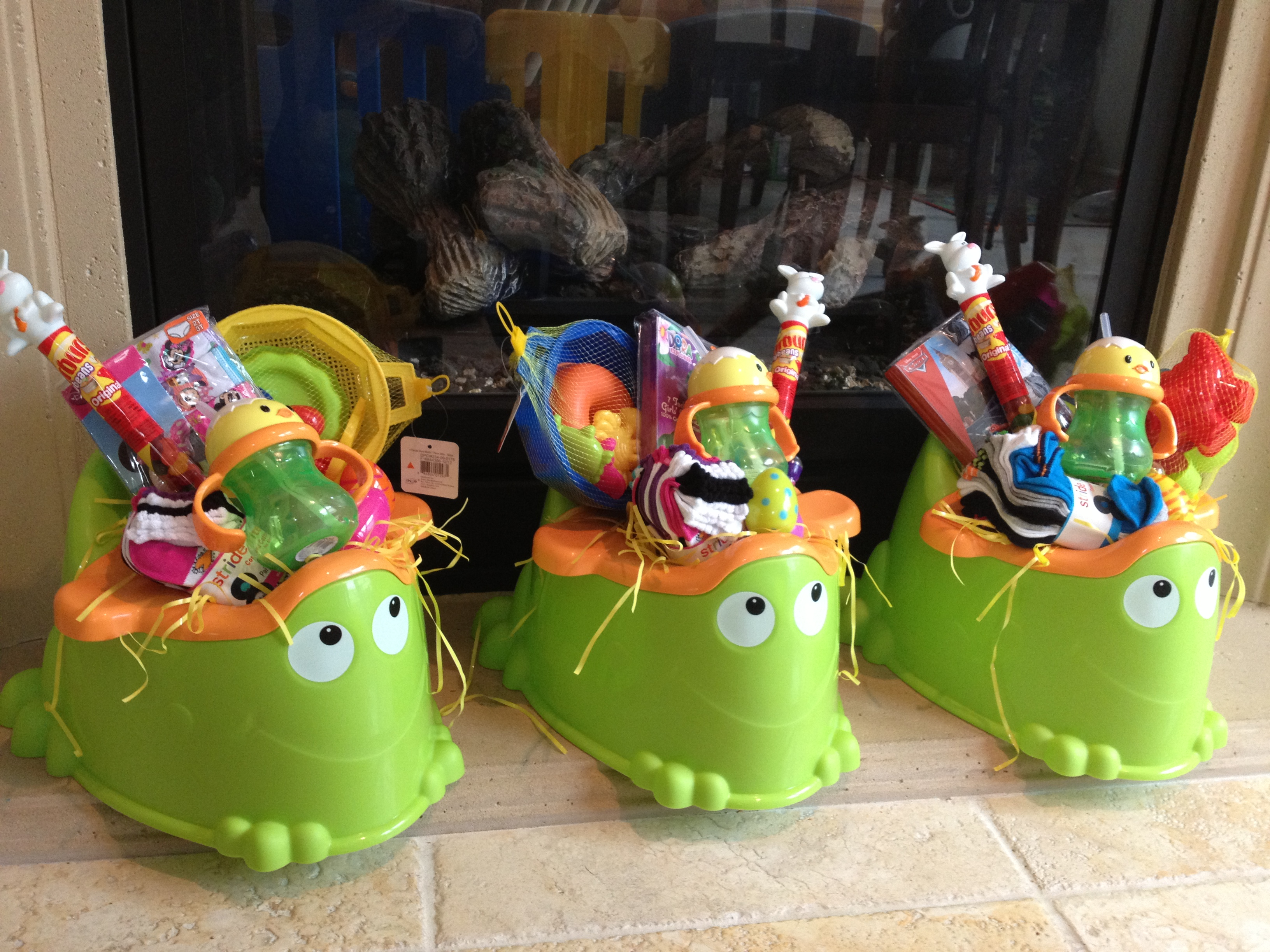 Make your own umbrella easter baskets non candy centered allergy potty training easter baskets negle Images