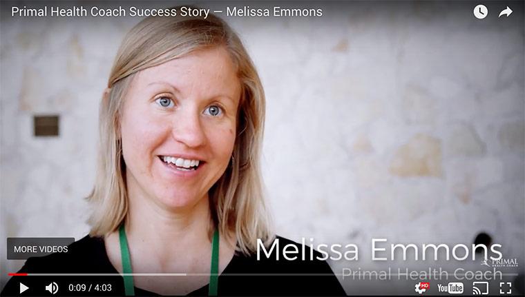 Primal Health Coach Success Story - Melissa Emmons ...