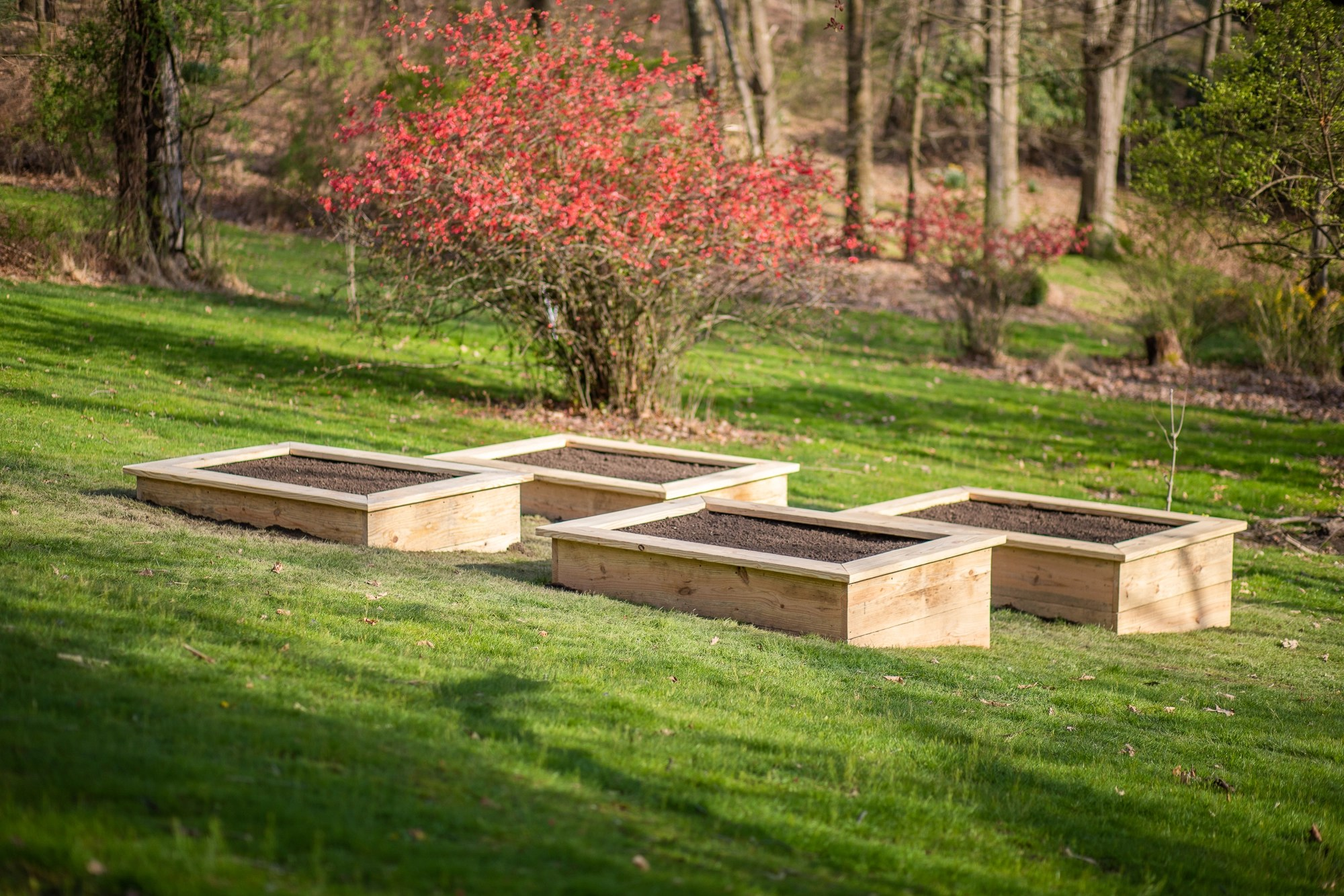 How To Build Raised Garden Beds On A Slope Primal Palate Paleo Recipes