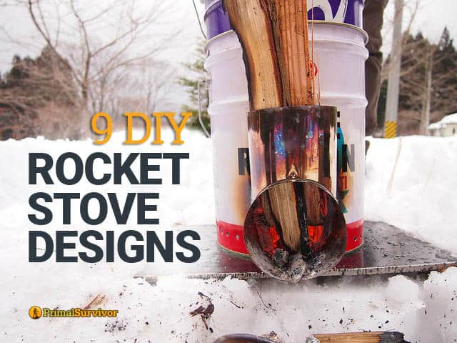 The Smokeless Easy To Build Off Grid Cooking Stove News Rh Offthegridnews Com Diy Rocket Stove Rocket Instructions