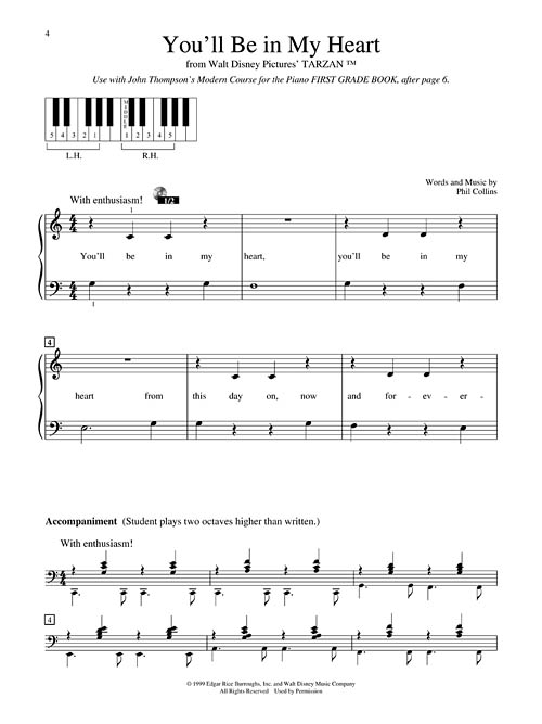 Popular Piano Solos - Grade 1 - Pop Hits. Broadway. Movies and More! John Thompson's Modern Course for the Piano Series Sheet Music by No Composer ...