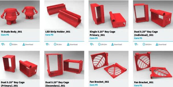 Une Plateforme De Fichiers Imprimables En 3D Pour