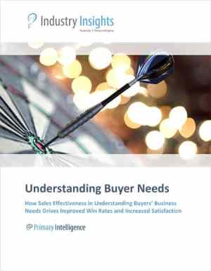 Industry Insights: Understanding Buyer Needs