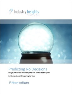 Industry Insights: Predicting No Decisions