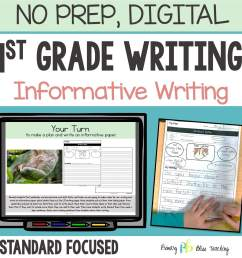 TEACHING INFORMATIVE WRITING IN FIRST GRADE   Primary Bliss Teaching [ 1738 x 1738 Pixel ]